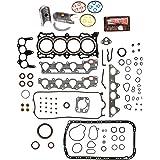 Evergreen Engine Rering Kit FSBRR4010EVE\0\0\0 Acura Honda 2.3 SOHC F23A1 F23A4 F23A5 F23A7 Full Gasket Set, Standard Size Main Rod Bearings, Standard Size Piston Rings