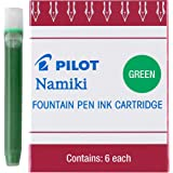 Pilot IC50, Repuesto, Tinta Líquida Verde, Cartucho, Caja 1 Caja c/u 6 Cartuchos (69003)