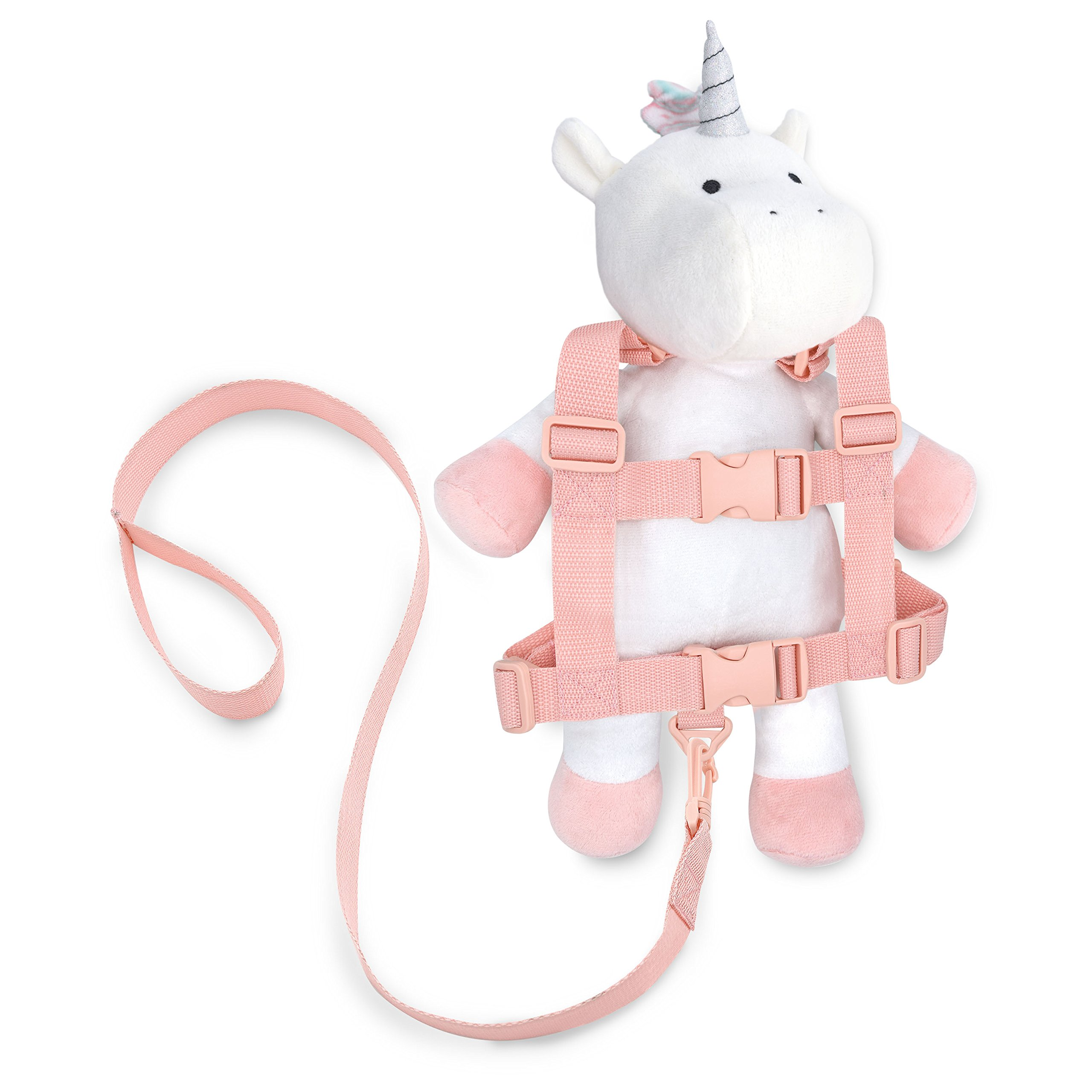 Travel Bug Toddler Character 2-in-1 Safety Harness - Unicorn - White/Pink/Rainbow