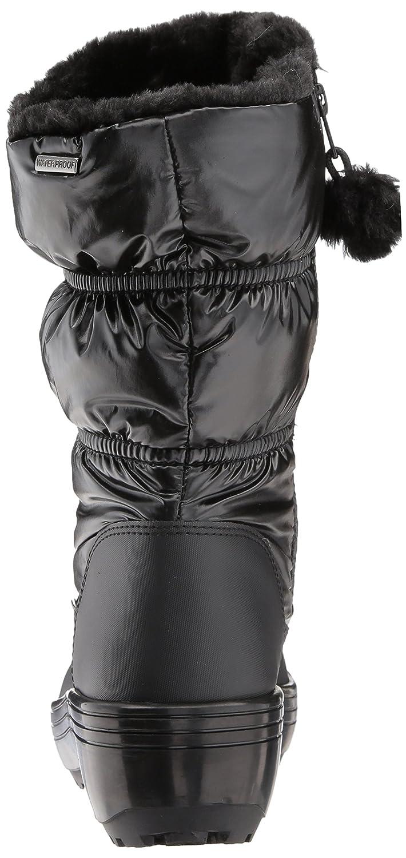 Skechers Women's Alaska-Tall Quilted Snow Boot B06XH4WG5N 10 B(M) US|Black