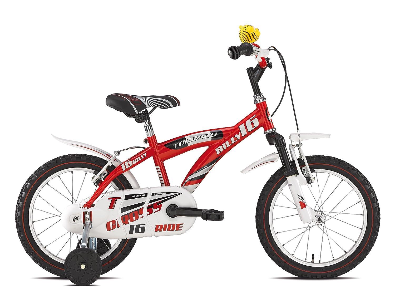 """'TORPADO Fahrrad Junior Billy 16 """"1 V rot (Kinder) Bicycle Junior Billy 16 1 V ROT (Kid)"""