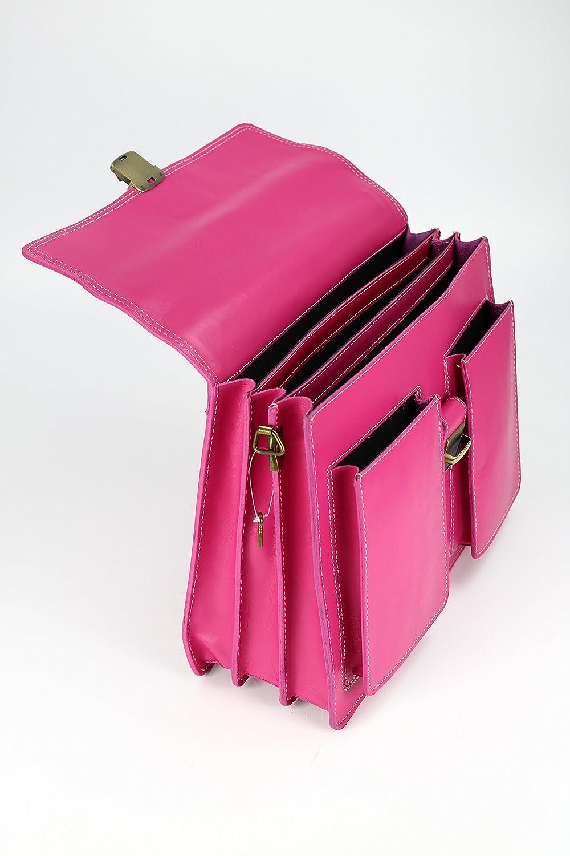 l x h x p /S/élection de couleurs/ Belli/® Design Bag B Sacoche porte-document en cuir italien unisexe/ /40/x 30/x 14/cm