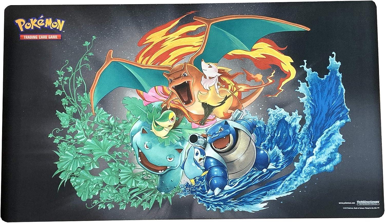 Charizard Blastoise Vensuar Premium Collection Exclusive... Pokemon Playmat