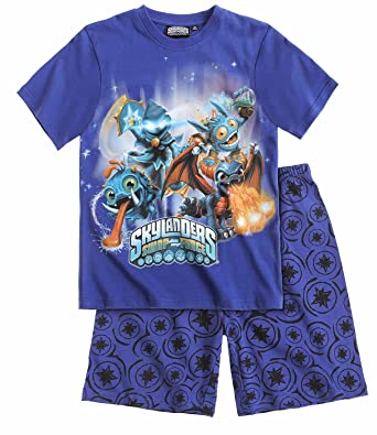 fc96a507f Image Unavailable. Image not available for. Color  Boys Skylanders Swap  Force Pajamas ...