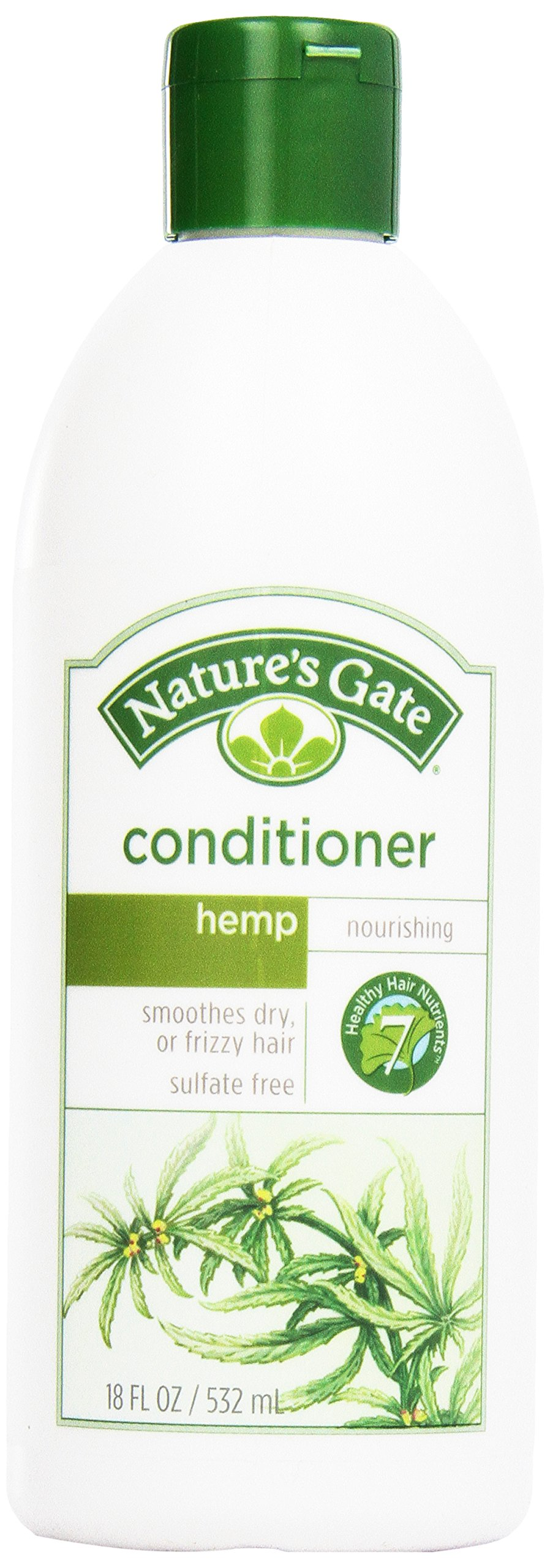 Nature's Gate, Hemp Nourishing Conditioner, For Dry or Frizzy Hair, 18 oz