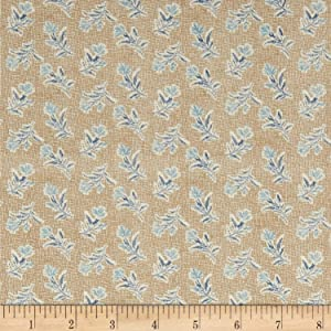 Andover 0575555 Quilt Fabric Something Blue Summer Field, 1.0, Quilt Fabric By The Yard, Burlap, Piece