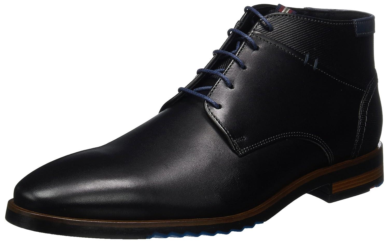 LLOYD Dino - botas Hombre negro (negro azul 1)