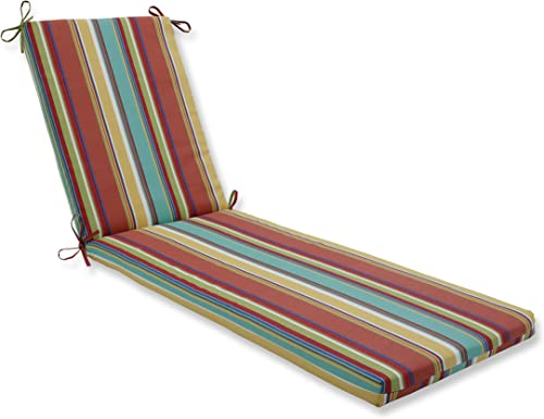 Pillow Perfect Outdoor/Indoor Westport Spring Chaise Lounge Cushion 80x23x3,Multicolored