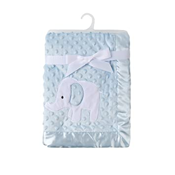KIKI   ANNA Baby Soft Fleece Mink Blanket with Double Layer Dot Veloba  213858361
