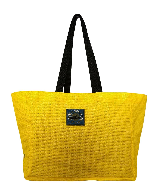 Shark Shade Yellow and Yellow Travel Tote