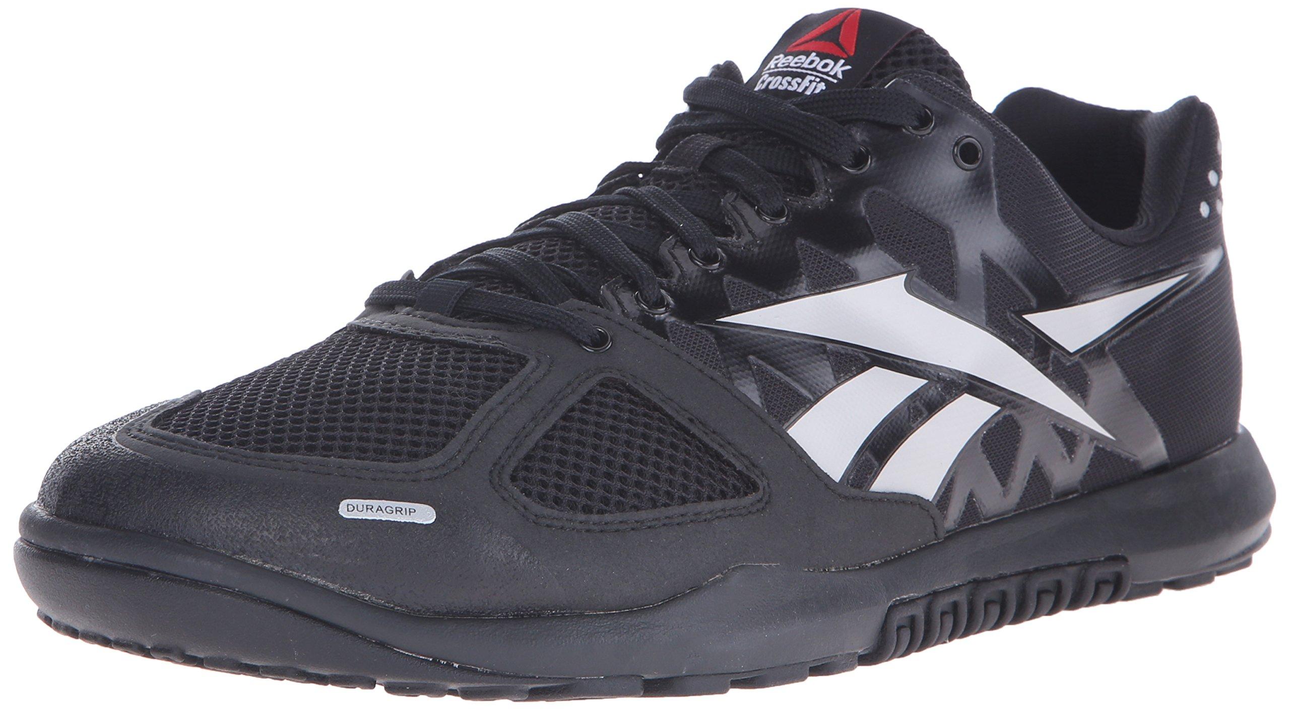 Reebok Men's Crossfit Nano 2.0 Training Shoe, Black/Zinc Grey, 10.5 M US