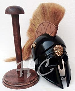 Hanzlacollection Greek Corinthian Helmet Reenactment Costume Medieval Knight Armor Spartan Helmet
