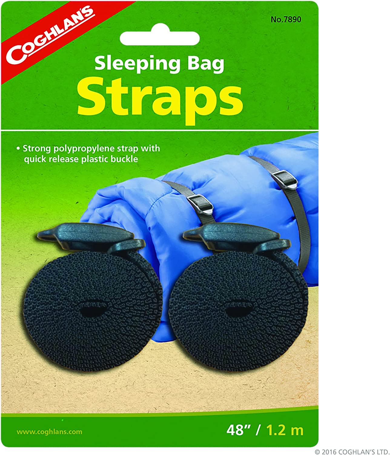 Coghlan's Sleeping Bag Straps : Compression Straps For Sleeping Bag : Sports & Outdoors