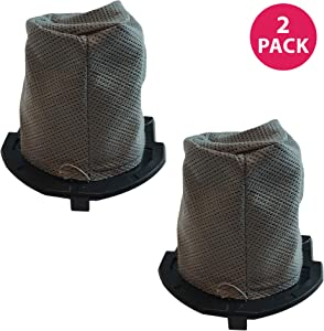 Crucial Vacuum 2 Replacements for Hoover Flair Filter Fits S2200, S2220 & S2201 Series, Compatible with Part # 59136055, Washable & Reusable (2 Pack)
