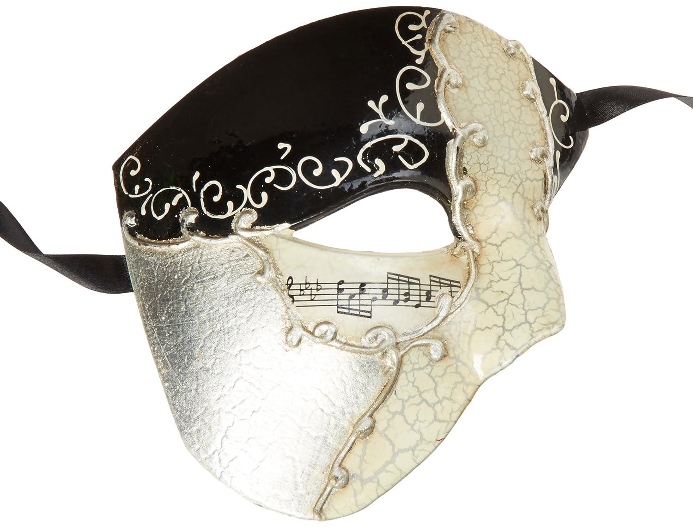 Amazon.com: Máscara de Fantasma de la Ópera – La mitad ...