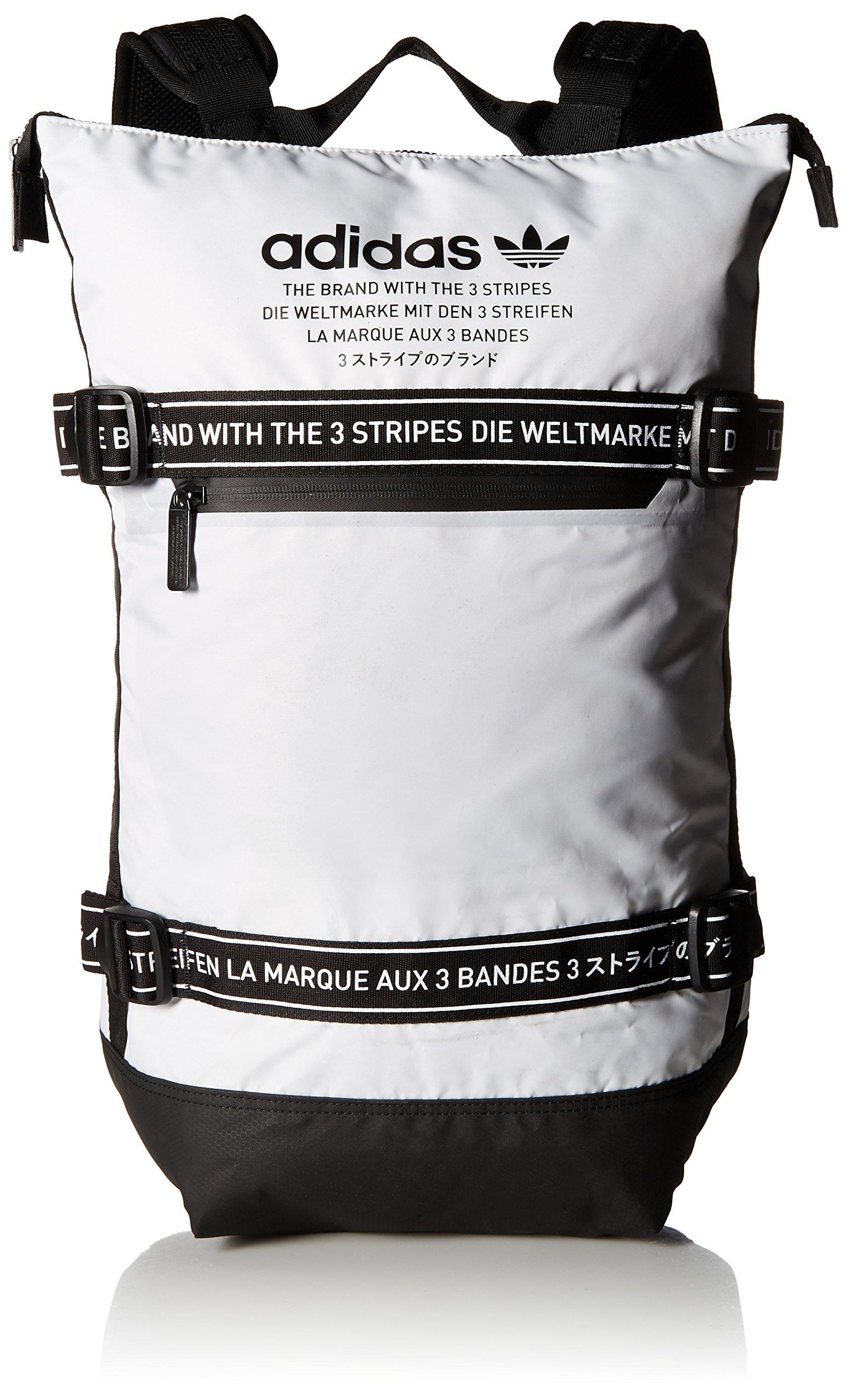 02546b7588 Galleon - Adidas Originals Unisex NMD Backpack, White/Black, ONE SIZE