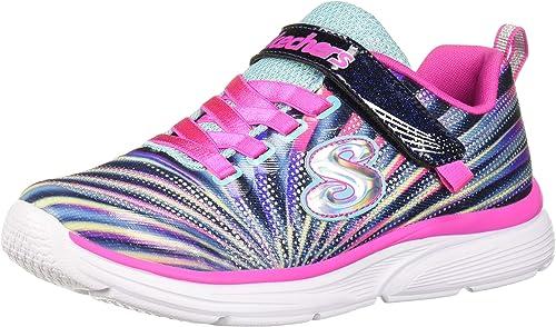 Multi  Size:11 M GirlsSKECHERS /' Go Run /' Pink