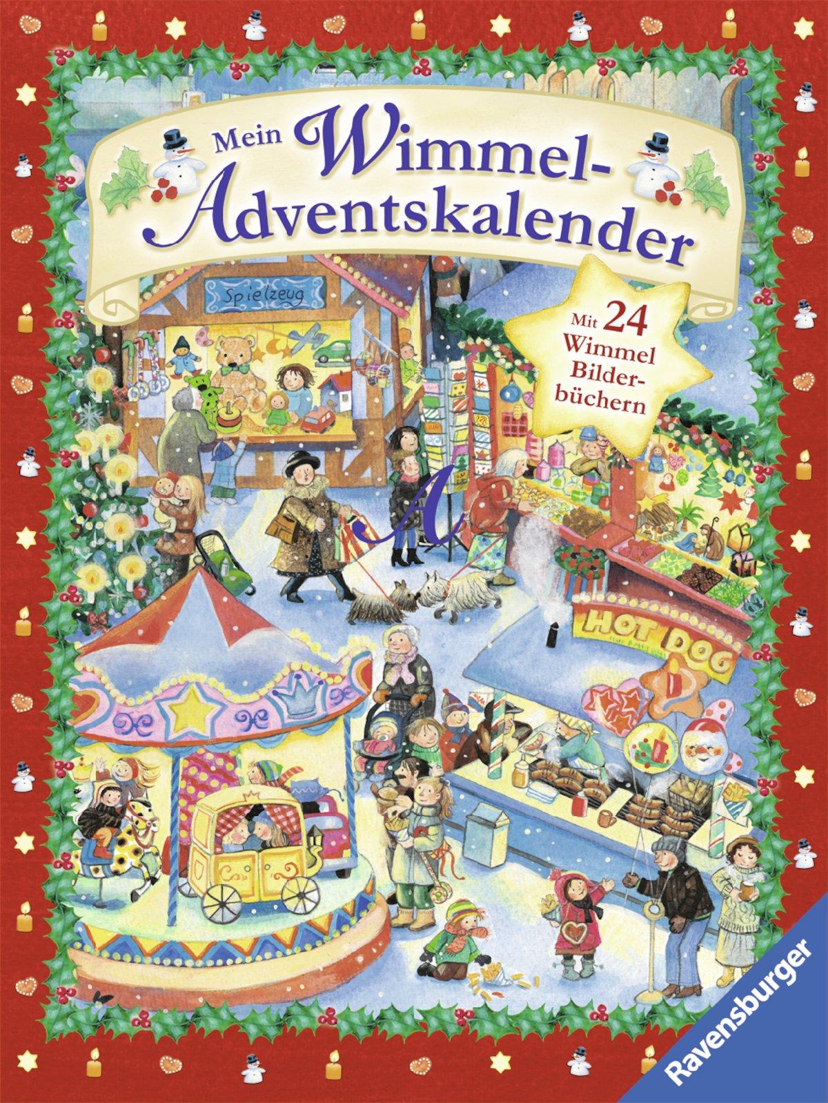 Mein Wimmel Adventskalender: Mit 24 Wimmel Bilderbüchern: Amazon.de: Bücher