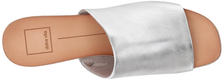 Dolce Vita Women's Kaira US|Silver Slide Sandal B077NF3DFV 6.5 B(M) US|Silver Kaira Leather c09d56