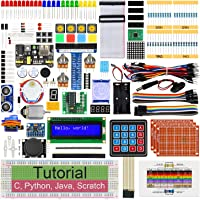 Freenove Ultimate Starter Kit for Raspberry Pi 4 B 3 B+ 400, 561-Page Detailed Tutorials, Python C Java Scratch Code…