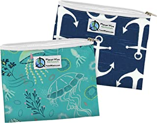 product image for Planet Wise Reusable Zipper Sandwich Bag - Jelly Jubilee/Overboard