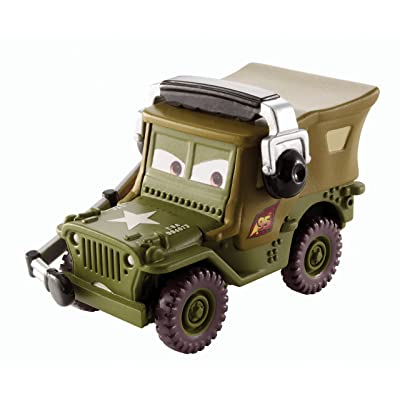Disney Pixar Cars Sarge with Headset Diecast Vehicle: Toys & Games