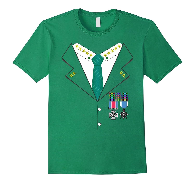Military General Halloween Costume T-shirt - Veteran