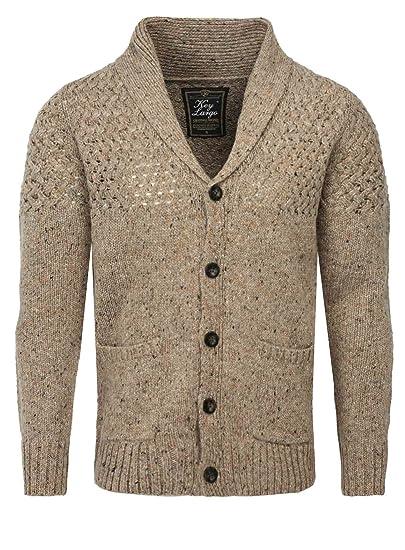 Key Largo Men Cardigan Will Pockets Button Front Knitting pattern ...