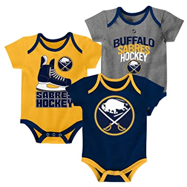 536fcb5ae Amazon.com  Buffalo Sabres NHLHat Trick Infant Creeper