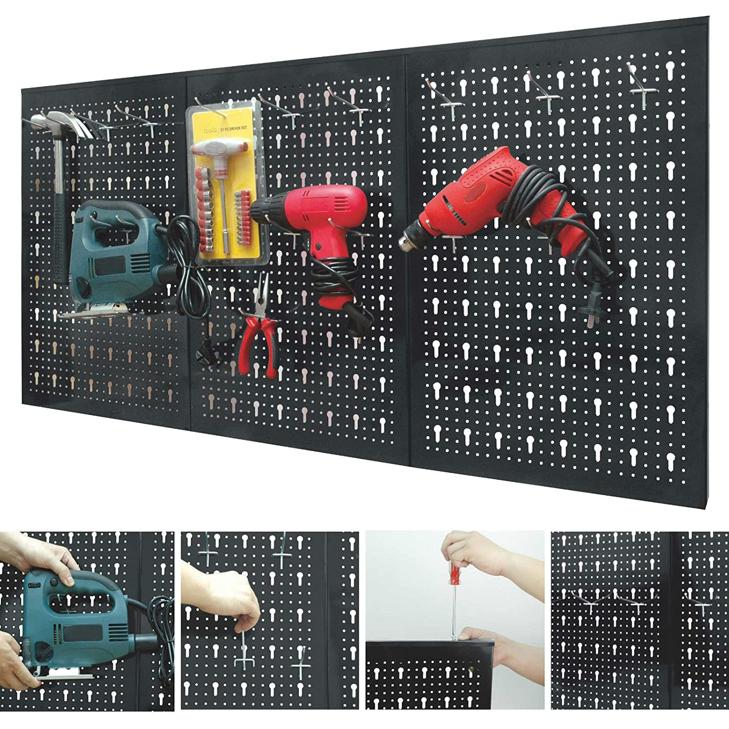 and know diy workshops skills to a pegboard peg step how board garage install tos