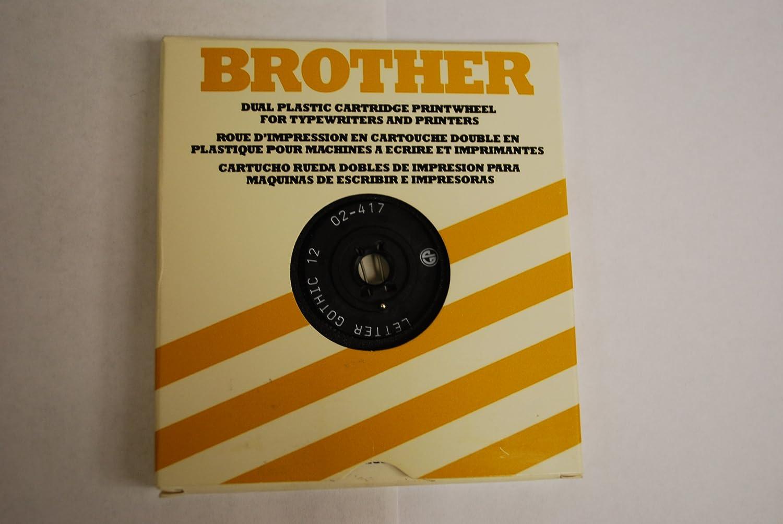 Amazon.com: Brother Typewriter Daisy Wheel Printwheel for all BROTHER Typewriters: Home & Kitchen