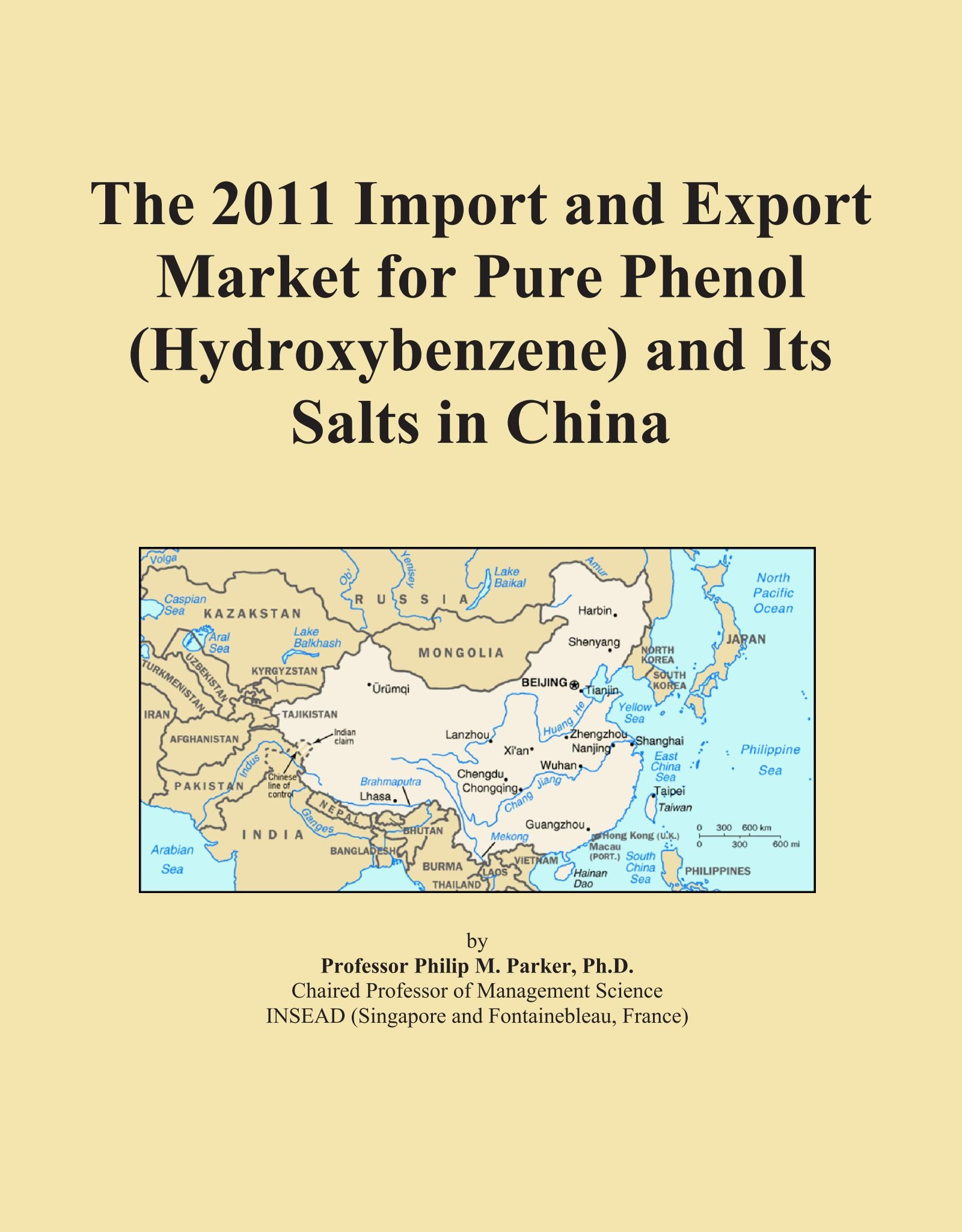 The 2011 Import and Export Market for Pure Phenol (Hydroxybenzene) and Its Salts in China pdf