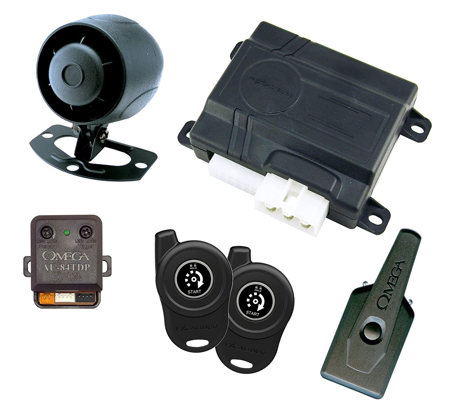 AL260EDP 1-Button Remote Start and Security System Excalibur