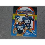 1984 NOTRE DAME FOOTBALL MEDIA GUIDE OVER 200 PAGES