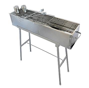 """Fiesta Griller 32 """"acero inoxidable barbacoa de carbón W/recto Grid – Parrilla"""