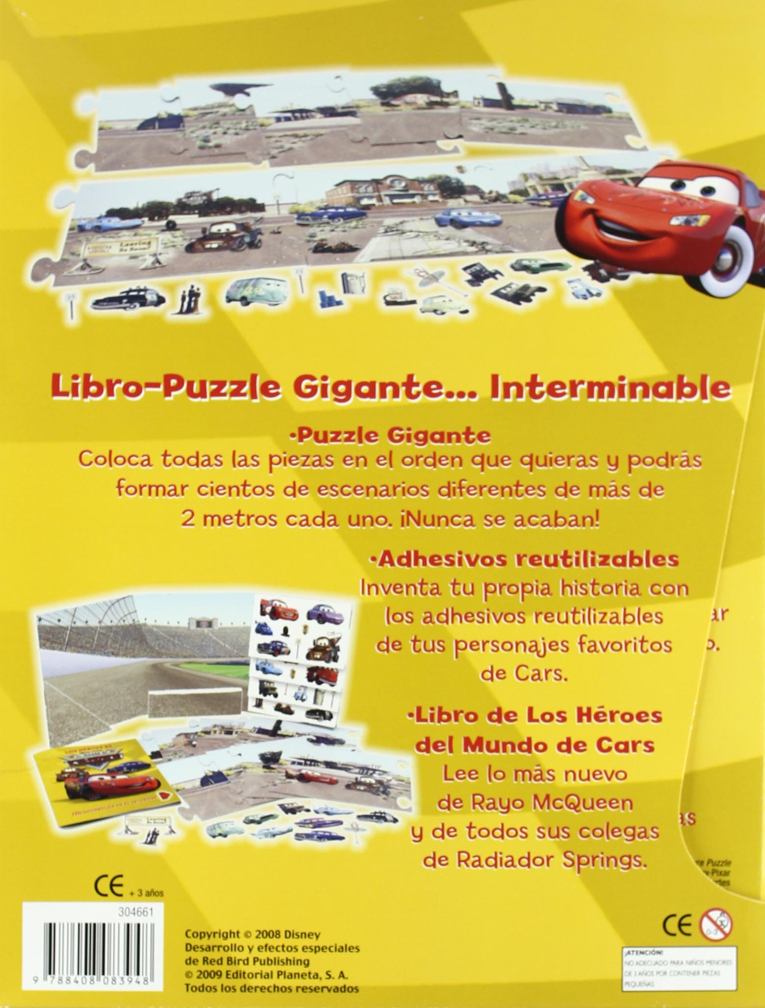 Mundo cars puzzle gigante: Disney. Cars: 9788408083948: Amazon.com: Books