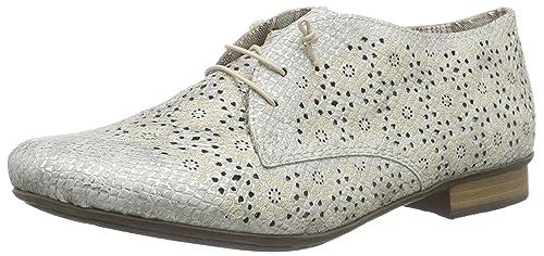 7b7072b2f92d5 Rieker 51946, Derbys Femme  Amazon.fr  Chaussures et Sacs
