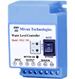 Mivan Technologies Plastic ABS Fully Automatic Water Level Controller and 3 Sensors Supply 230VAC (Blue)