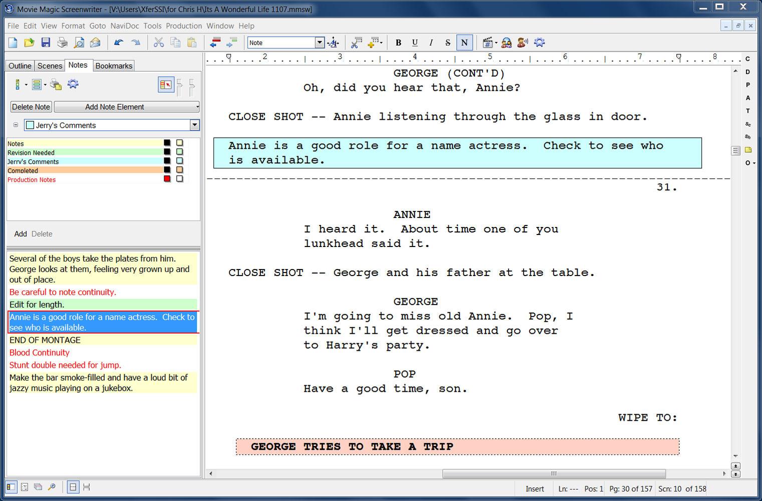 movie magic screenwriter download import it all
