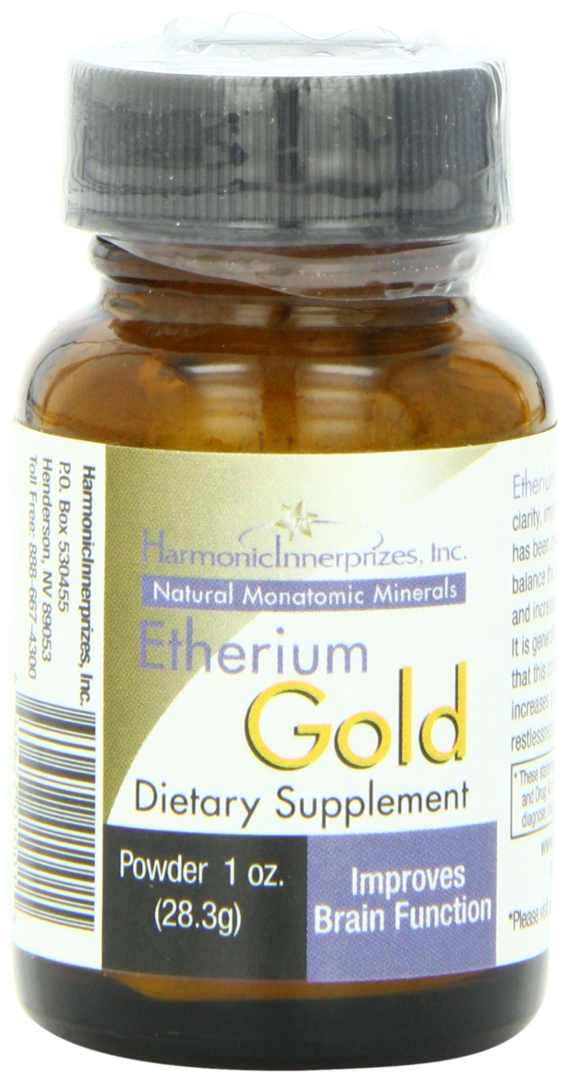 Harmonic Innerprizes Etherium Gold 1oz Powder