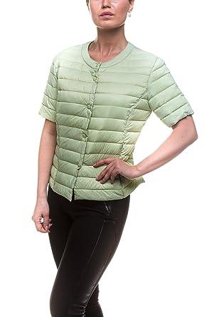 innovative design 69d78 2d613 Pulsante Daunenjacke Damen kurzarm Gr. L blassgrün ...