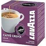 Lavazza A Modo Mio Caff? Crema Lungo Dolcemente, Pack of 5, 5 x 16 Capsules