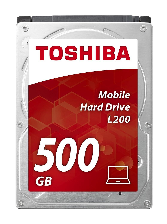 Toshiba L200 - Disco Duro Interno de 500 GB, 2.5' 2.5 HDWJ105EZSTA Disco duro SATA HDD SATA HDD de 3 HDWJ105EZSTA^Unidad de disco duro SATA^HDD SATA^HDD de 3 5^Disco duro SATA^Unidad de 3