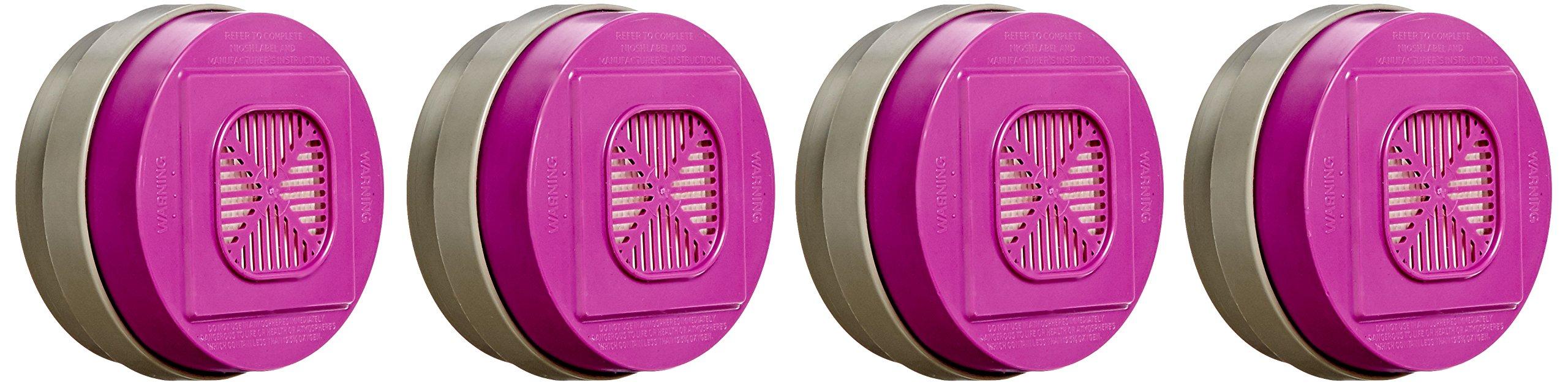 Honeywell T105810 Uni-Sorb Multi-Contaminant Cartridge with HEPA (Pack of 4)