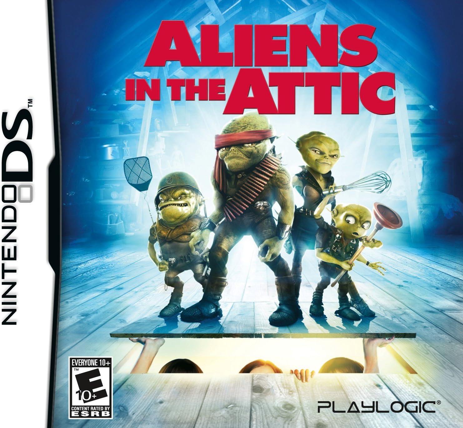 Amazoncom Aliens In The Attic Nintendo Wii Video Games