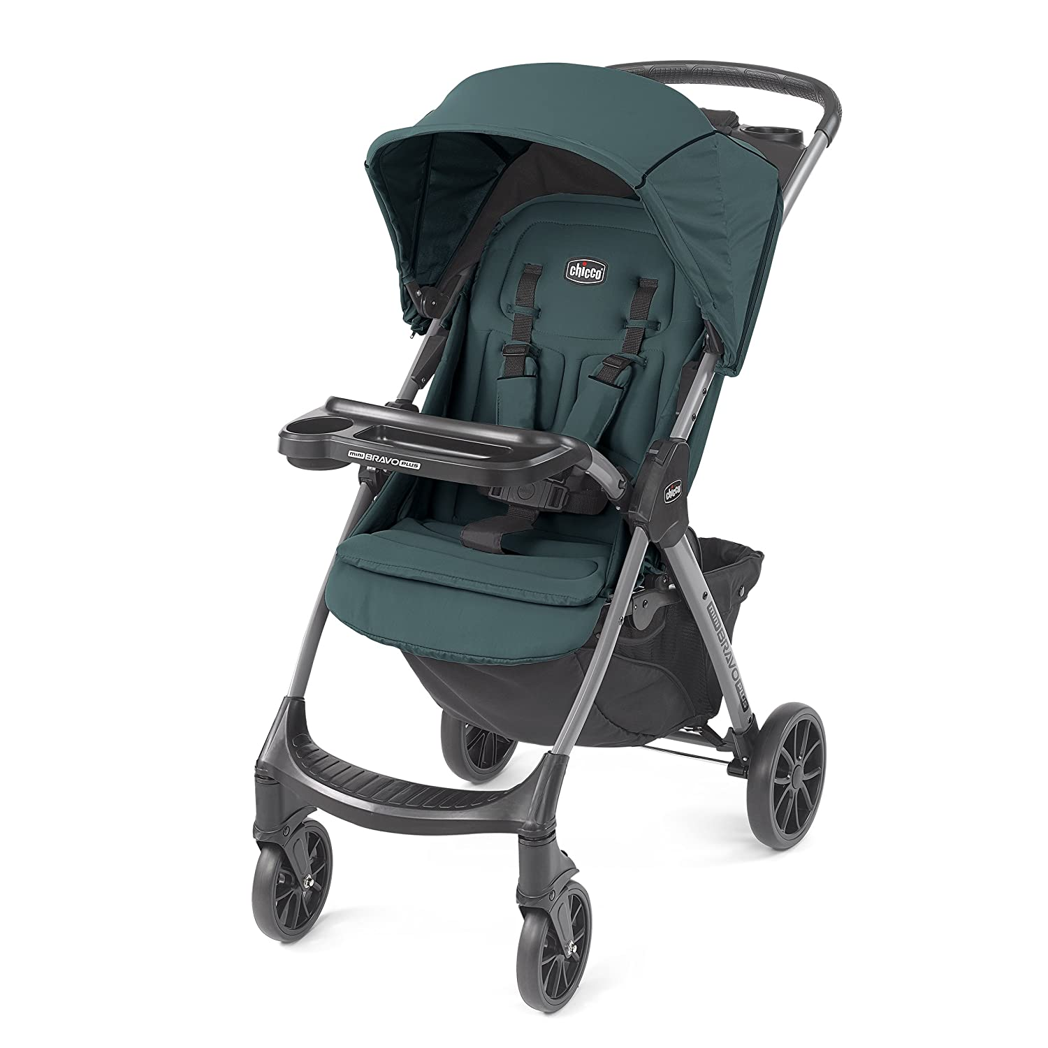 Chicco Mini Bravo Plus Lightweight Stroller, Graphite 06079664210070