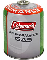 Coleman C300/C500 Performance Screw On Gas Cartridge, for Camping Stoves, Compact and Resealable Canister