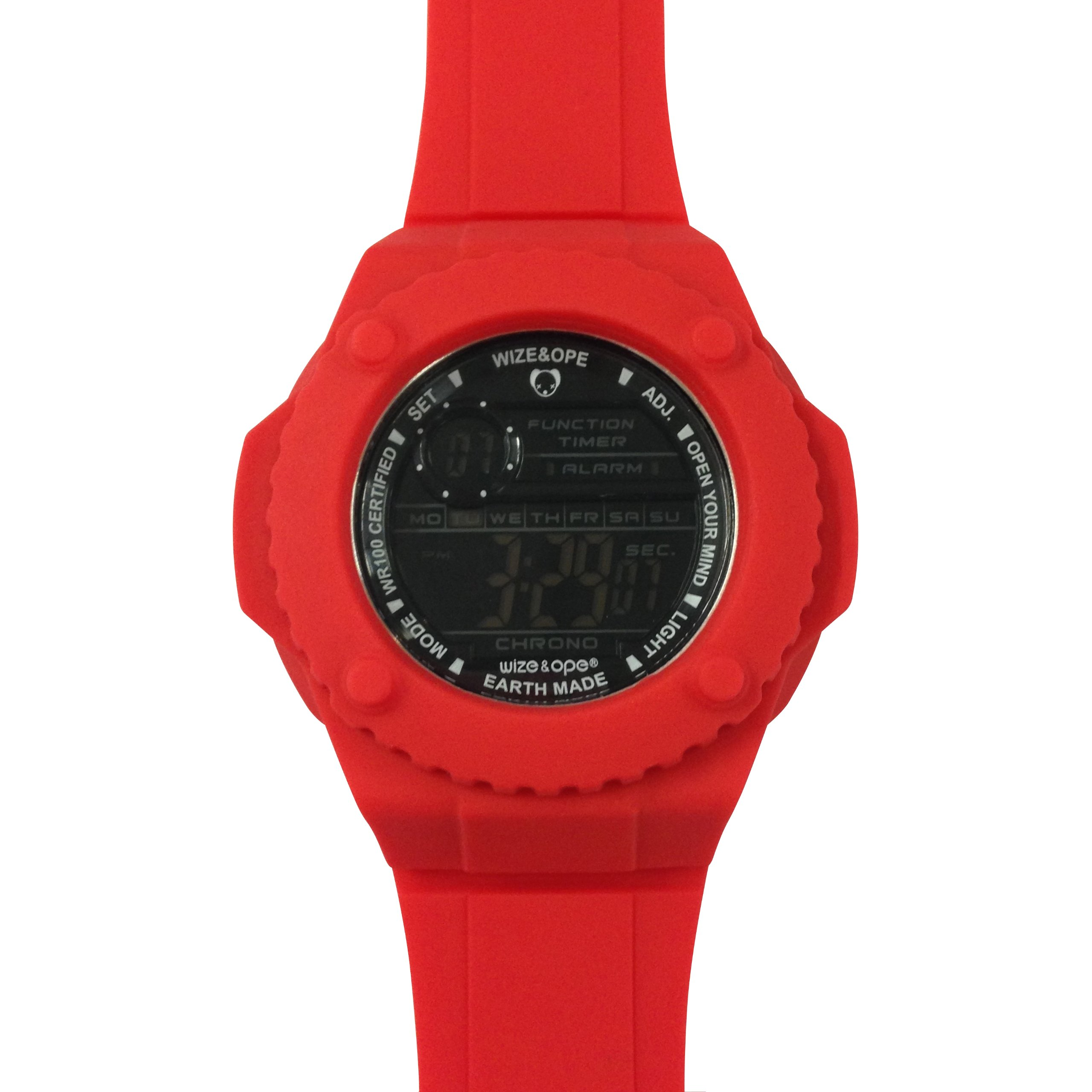 Wize & Ope X Lil Wayne Earth Made Gummy Watch Red Edition Last One Genuine NEW …
