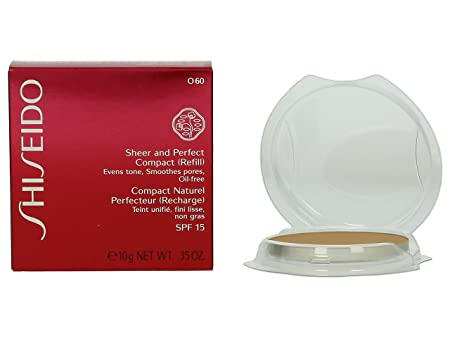 Shiseido Sheer Matifying Compact Foundation Refill 060 Natural Deep Ochre