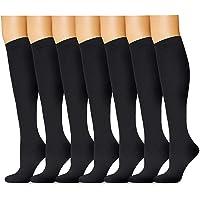 Aruny Calcetines de Compresión (7 Pares) para Mujeres